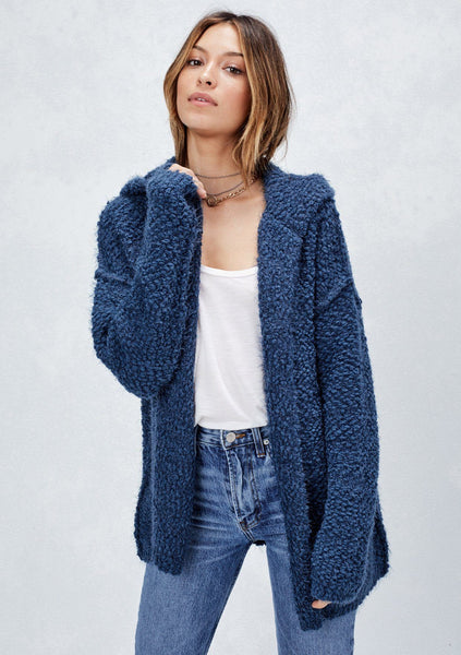 Shaney Fuzzy Cardigan