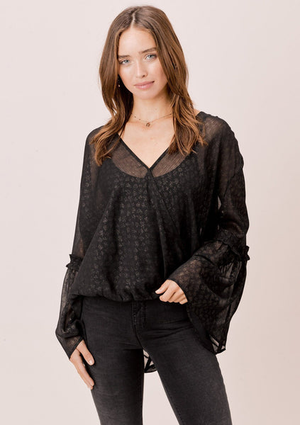 Cari Bell Sleeve Top