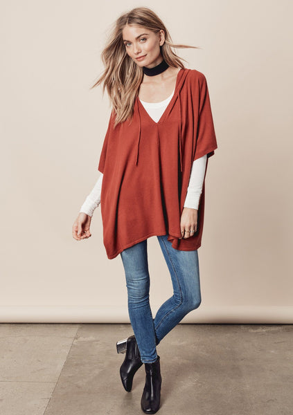 Cella Poncho Sweater