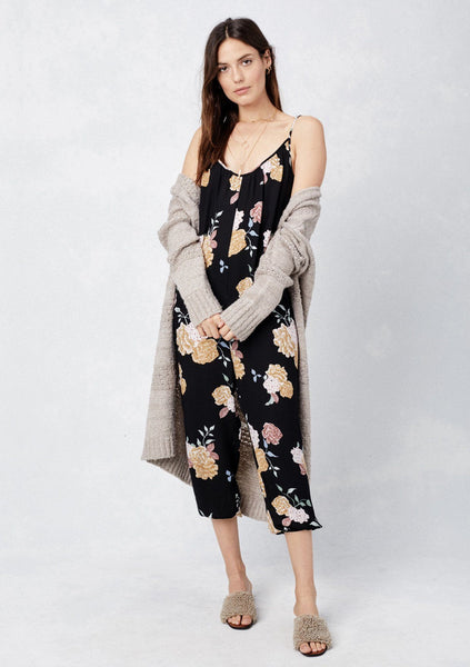 Willa Floral Jumpsuit