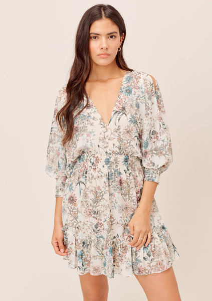 Glenna Split Sleeve Mini Dress