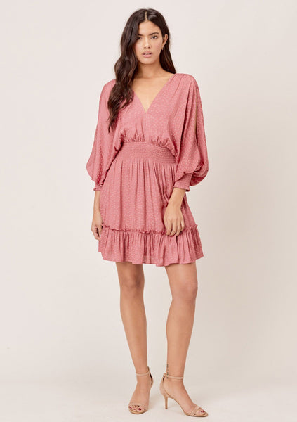 Kenia Split Sleeve Mini Dress