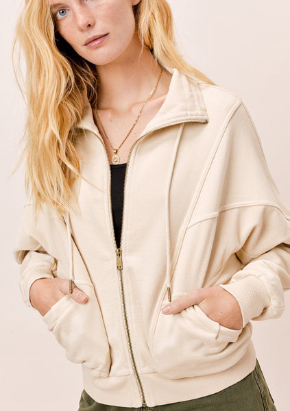 Lindsay Zip-Up Sweatshirt