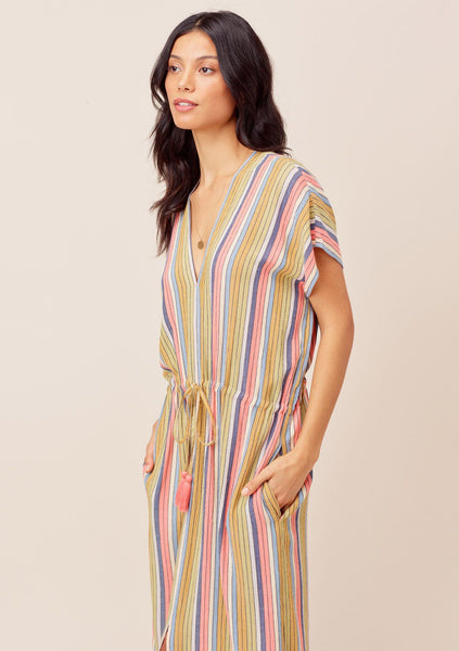 Giselle Striped Beach Dress