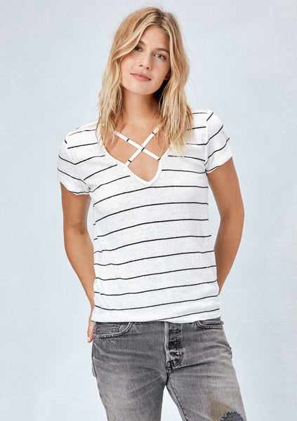 Rowe Striped Tee