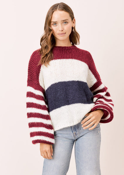Cass Striped Sweater