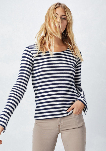Susannah Striped Top