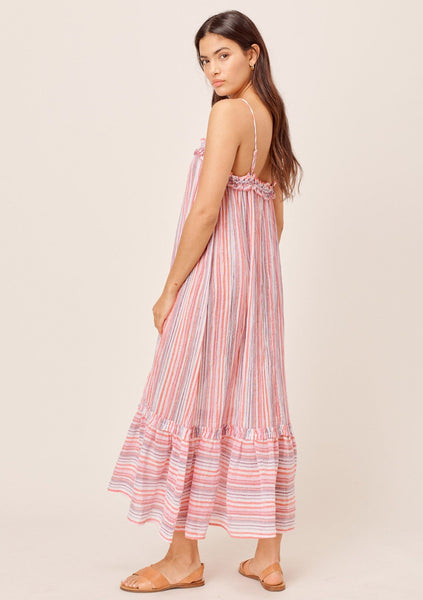 Summer Crinkle Cotton Beach Dress