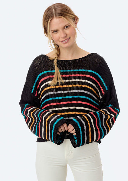 Sera Striped Knit Pullover