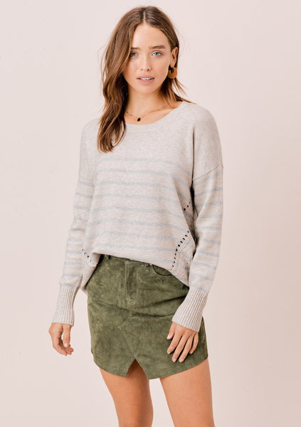 Bailey Striped Sweater