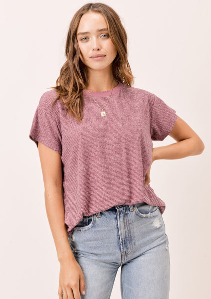 Jennifer Mini Stripe Tee