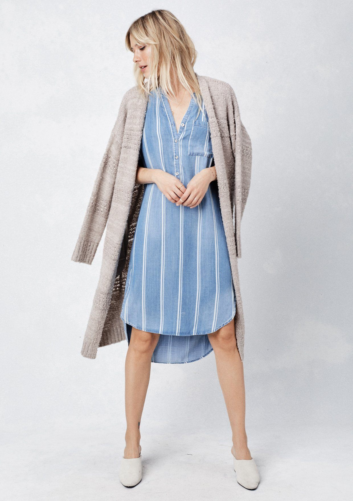 ad6ae7bee8 ... Striped Shirt Dress.  Color  Blue White Stripe  ·  Color  Blue White  Stripe  ...