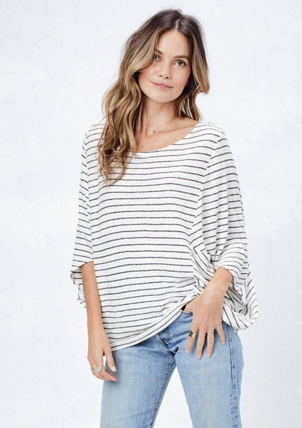 Valyn Striped Top