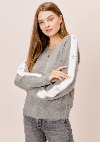 Dani Star Sleeve Sweater