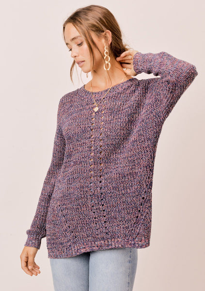 Ivy Twisted Back Sweater