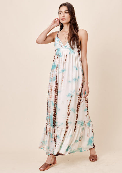 Ada Tie Dye Maxi Dress