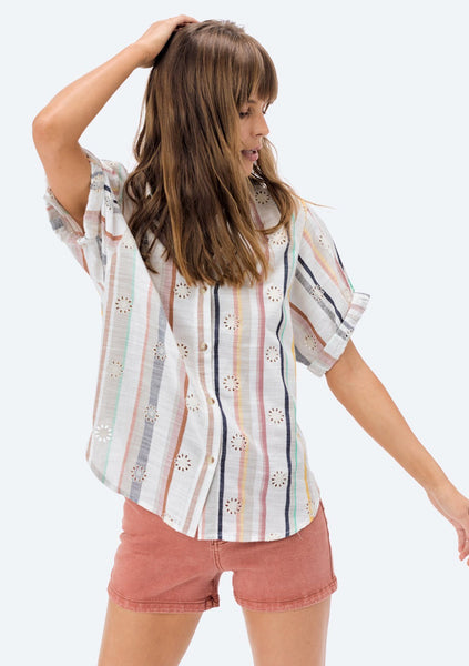 Diem Striped Buttondown