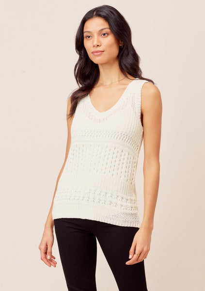 Halston Sleeveless Knit Top