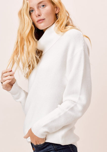 Gretchen Ribbed Turtleneck