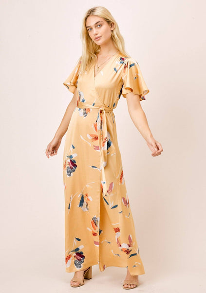 Raquel Floral Wrap Dress