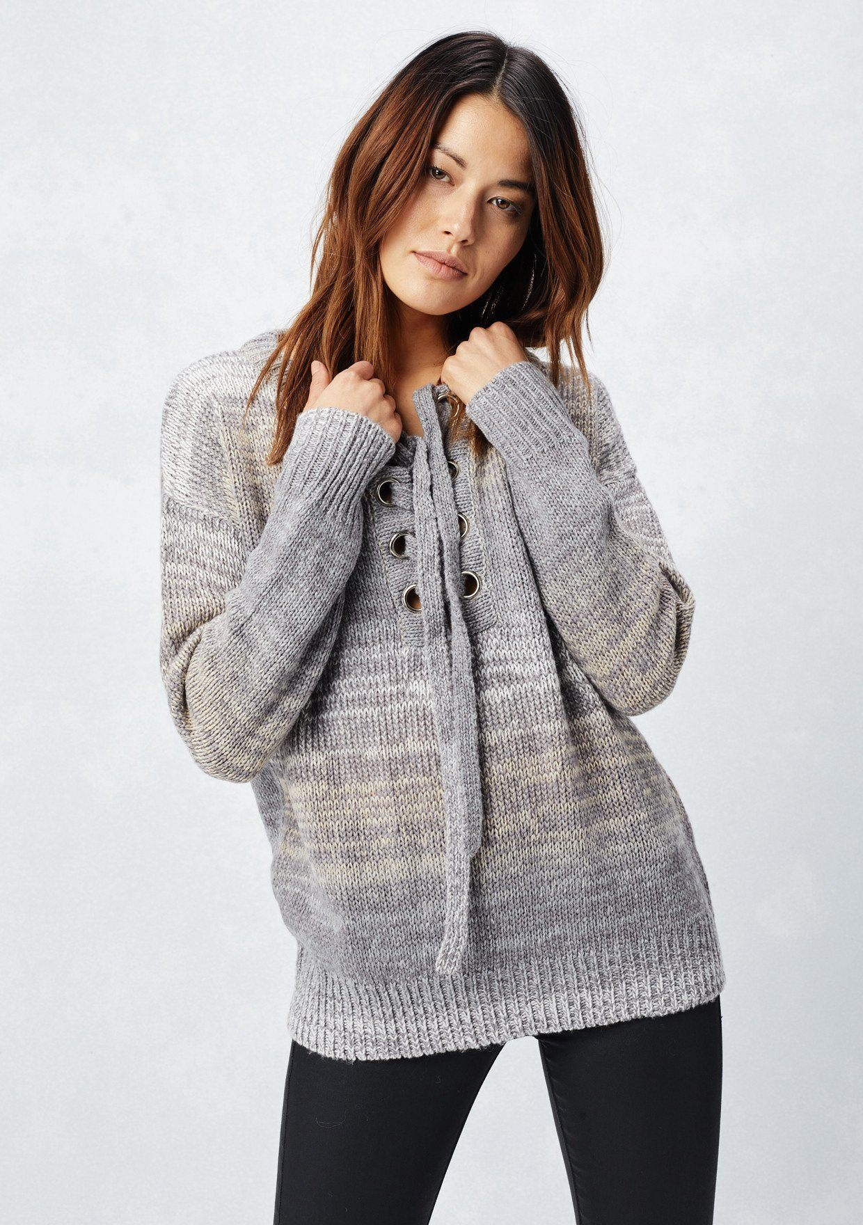 bdb386633cdea Lovestitch-lace-Up-Space-Dyed-Sweater -2 2ed0a6ff-02ce-457f-b6ce-1733c04dc965.jpg v 1546980820