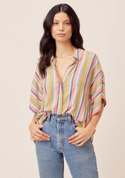 Pia Striped Buttondown
