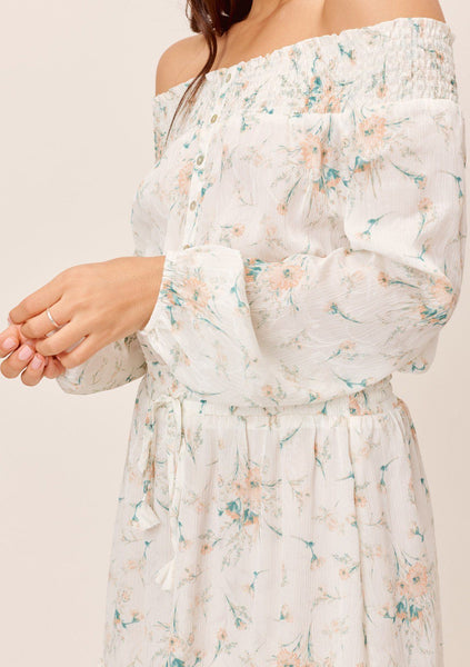 Clementine Off-The-Shoulder Dress
