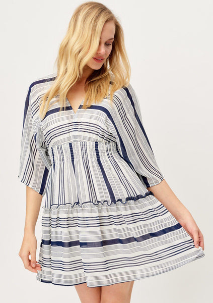 You've Earned Your Stripes Mini Dress