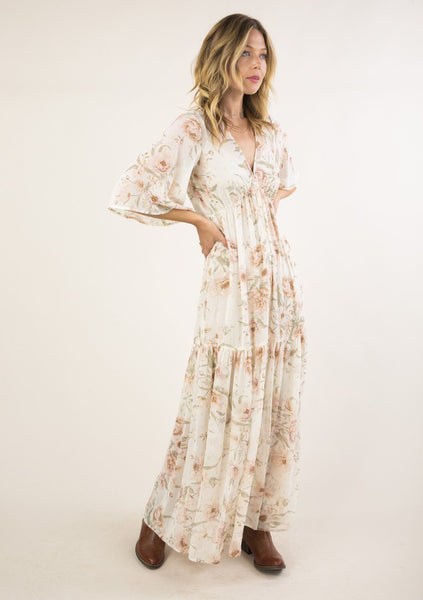 Dream of Floral Darling Maxi Dress
