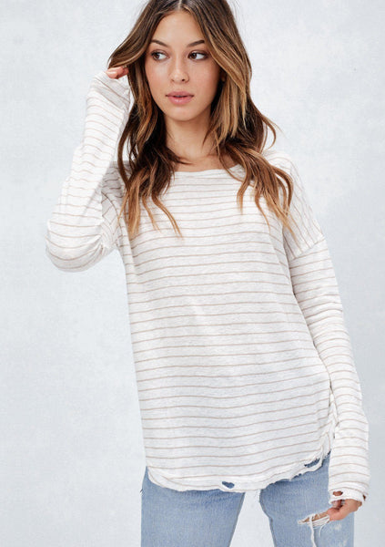 Adrian Striped Top