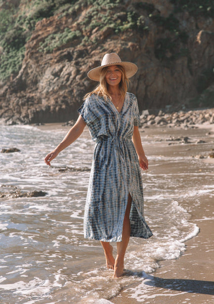Topanga Tie-Dye Beach Dress