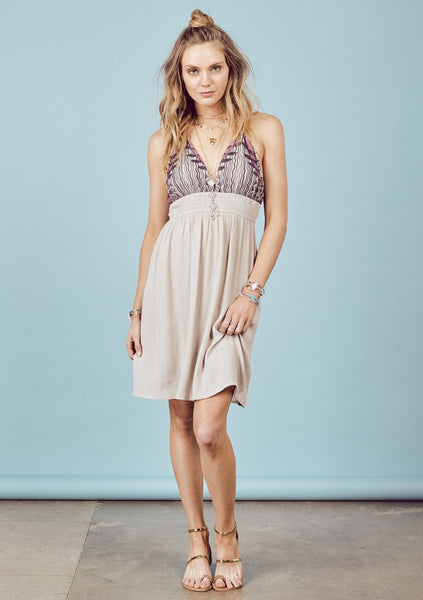 Sonya Halter Dress