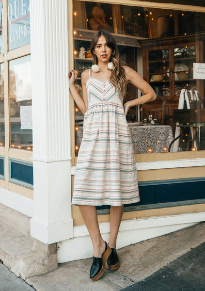 Farrah Striped Dress
