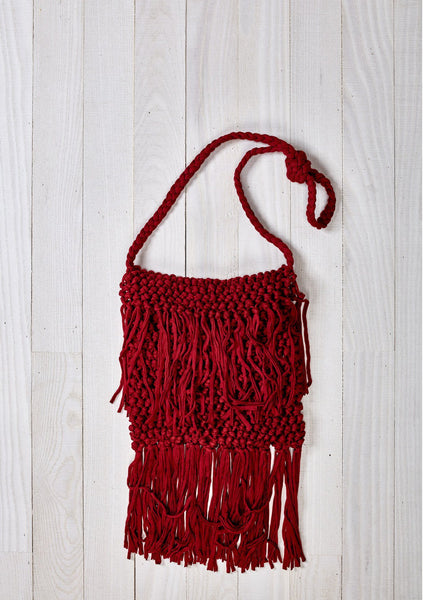 Jersey Crochet Crossbody