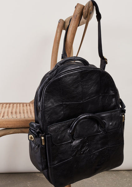 Lincoln Leather Backpack