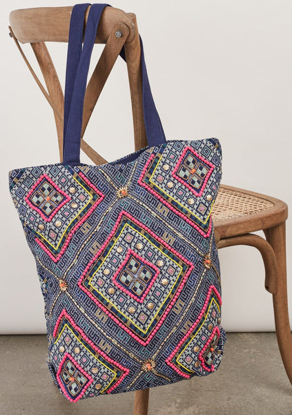 Journey Beaded Tote
