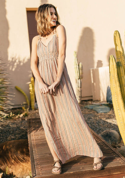 Ramsey Striped Maxi Dress