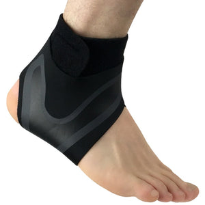 Sport Ankle Support Brace Elastic High Protect Guard Band Safety Running Basketball Fitness Foot Heel Wrap Bandage#