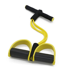 Fitness Resistance Bands Latex Pedal Exerciser