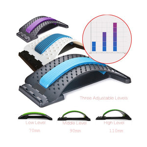 Stretch Equipment Back Massager Stretcher  Lumbar Support Pain Relieve