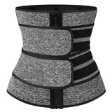 Steel Boned Waist Corset Trainer Sauna Sweat Sport Girdle Cintas Modeladora Women Weight Loss Lumbar Shaper Workout Trimmer Belt
