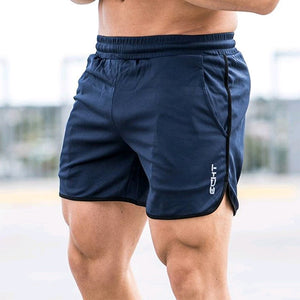 New Men Fitness Bodybuilding Shorts Summer  Workout  Breathable Mesh