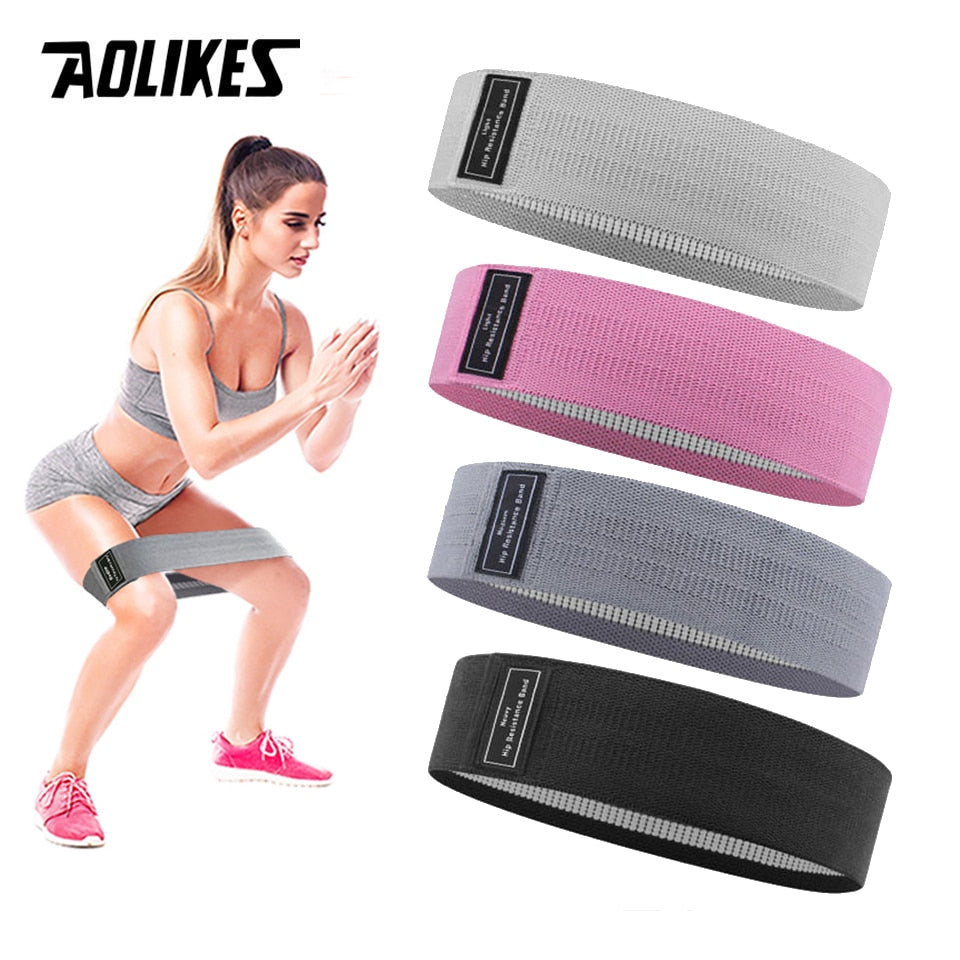 Durable Hip Circle Band Yoga Anti-slip Gym Fitness