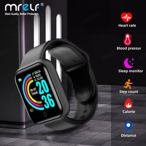 Smart Watch Women Men Bluetooth Blood Heart Rate Monitor  for IOS and Android