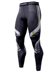 Mens Compression Pants Quick Dry Fit Sportswear
