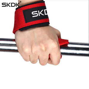 25x20x5cm 1pc Padded Weight Lifting Straps Training Gloves Hand Wrist Wraps Grip Band Gym Fitness Sport Equipment Accessorie