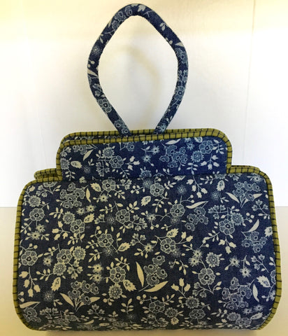 Tootsie Bag in Blue Floral