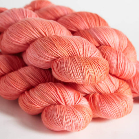 Hedgehog Fibres Sock Coral