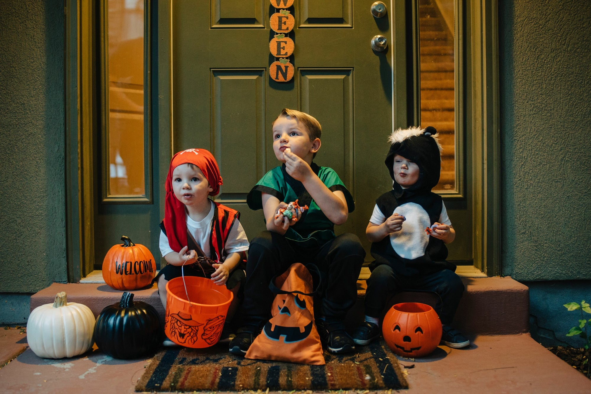 Trick-or-Treat with Tasty Taffy Town Flavors