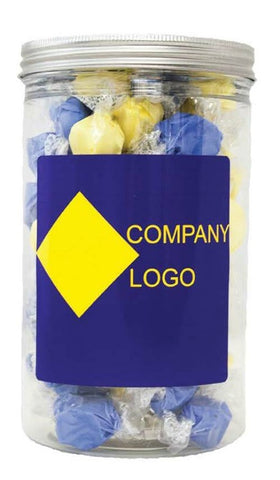 custom corporate gift from Taffy Town